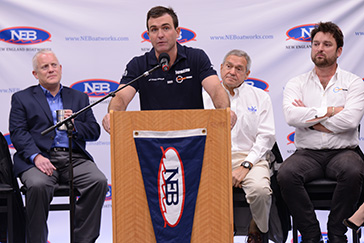 Speaker Volvo Ocean Race Skipper Charlie Enright